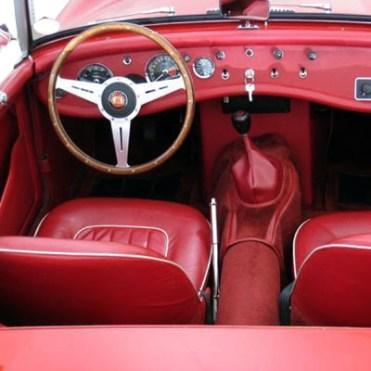 Panel kit Sprite 1965 rouge