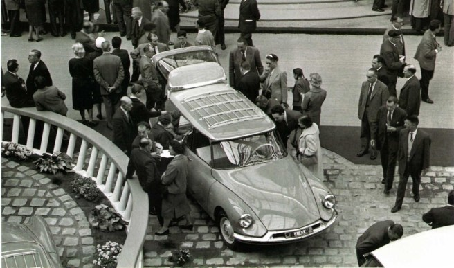 DS Break Paris 1958