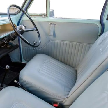 Garniture 64 71 bleu gris