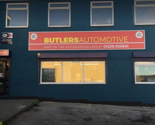 Butlers Automovtive - Autosupplies Group Signage