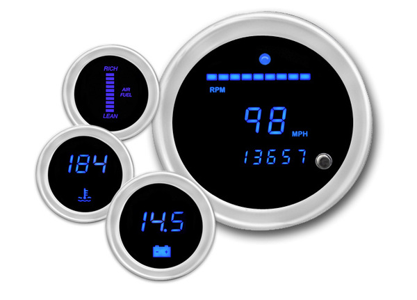Cyberdyne Blue Ice Digital Gauges