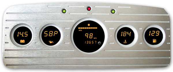 Cyberdyne Billet Aluminum Gauge Panel