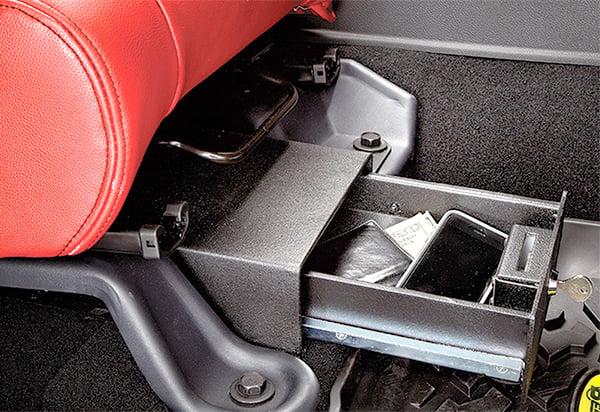 1996 2006 Jeep Wrangler Bestop Under Seat Locking Storage