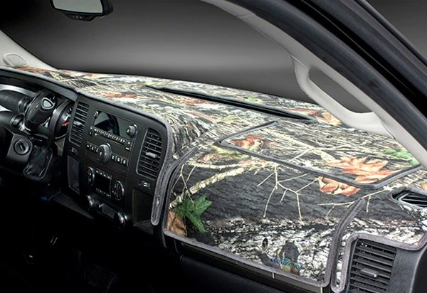 Coverking Mossy Oak Camo Velour Dashboard Cover Free