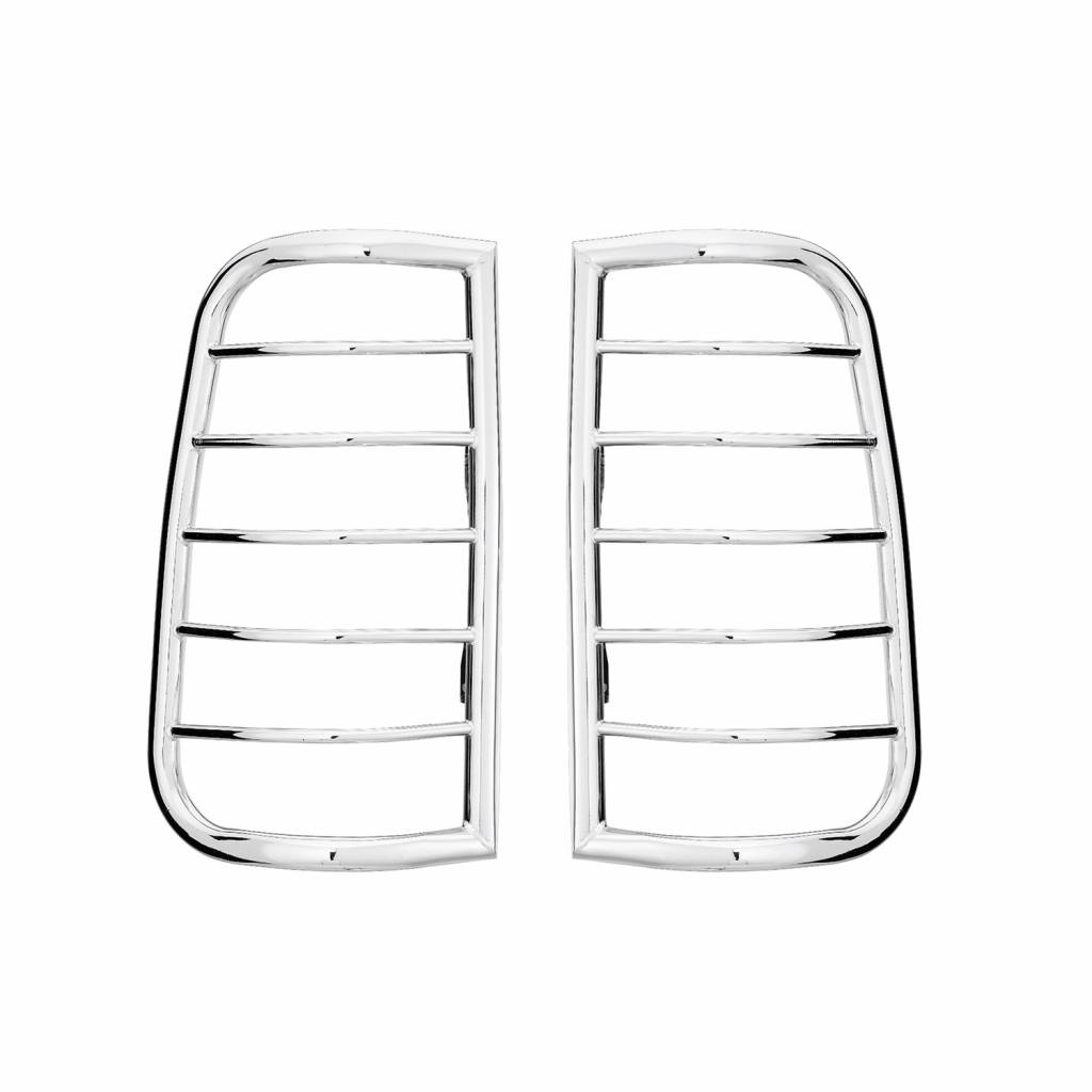 Westin Sportsman Tail Light Guard Chrome 39