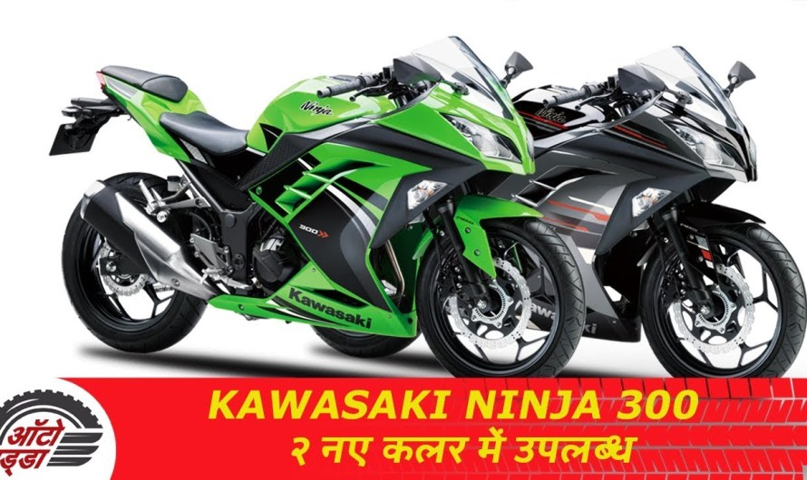 2019 Kawasaki Ninja 300 दो नए कलर के साथ हुई अपडेट