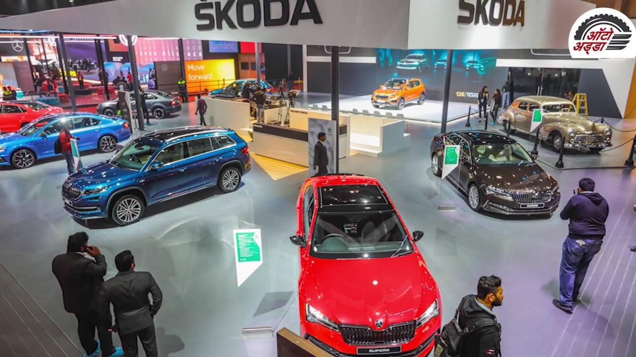 All Skoda Cars At Auto Expo 2020, The Motor Show