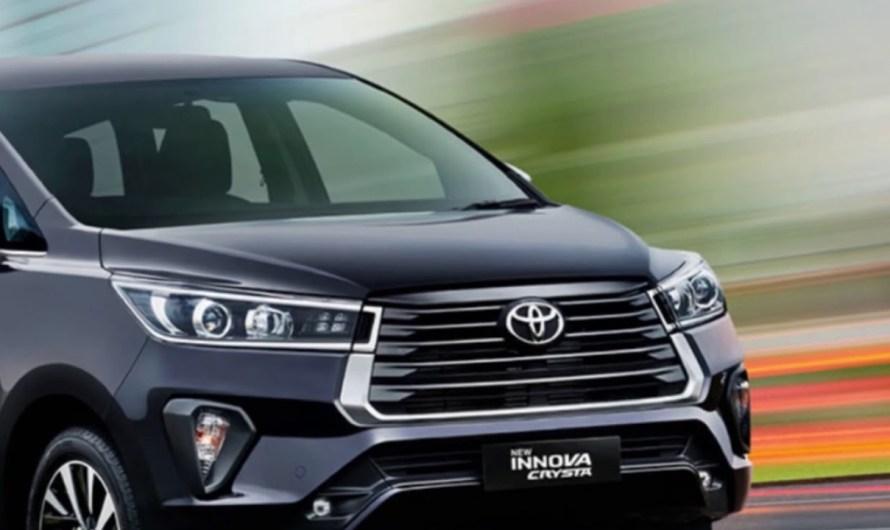 New Toyota Innova Crysta Facelift हुई लॉन्च