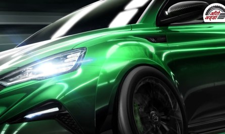 MG6 XPower हाइब्रिड हॅचबैक से प्रेरित रेसकार हुई अनविल