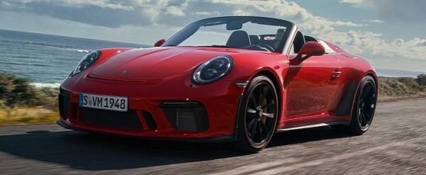 Porsche 911 Speedster Costs GT2 RS Money ($275K), Has Individual Throttle Bodies