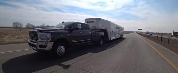 2019 Ram 3500 Diesel Tows 29,000-Pound Trailer, Averages 8.7 Miles Per Gallon