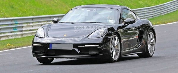 2020 Porsche 718 Cayman/Boxster Spied Testing Flat-Sixes, Touring Pack Rumored