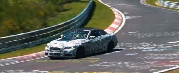 New 2020 BMW 4 Series Convertible Spotted on Nurburgring, Shows Elegant Soft Top