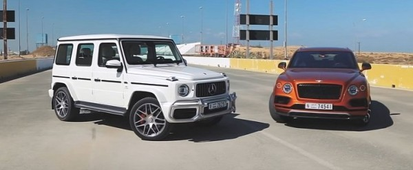 2019 G63 Drag Races Basic Bentley Bentayga With Surprising Results
