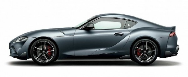 2020 Toyota GR Supra Matte Storm Gray Is Exclusive To Japan