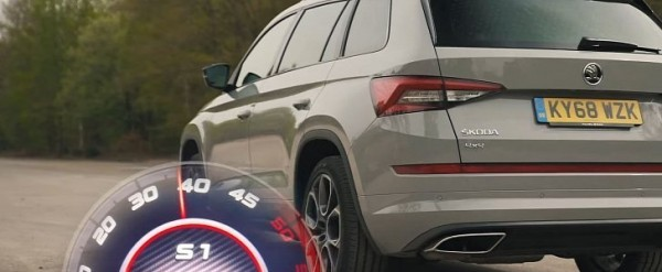 Skoda Kodiaq RS UK Review Shows Fake Exhaust, Tests Acceleration