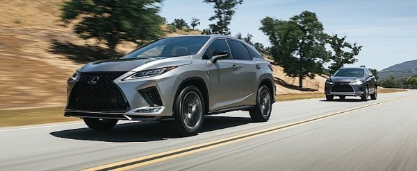 2020 Lexus RX Breaks Cover with Android Auto for the First Time