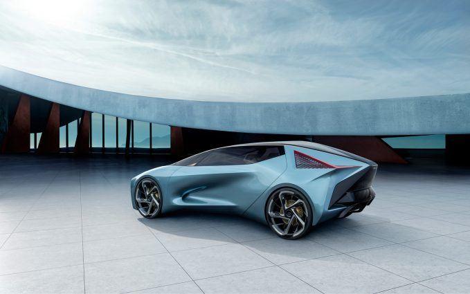 Lexus LF-30 Hints at Brand's First EV