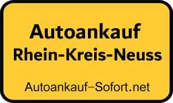Autoankauf Rhein-Kreis-Neuss
