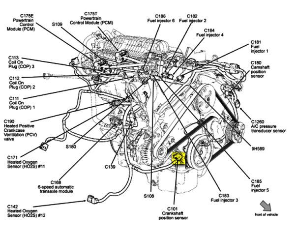 Isuzu Rodeo Transmission Diagram