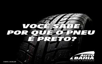 Você sabe por que o pneu é Preto ?