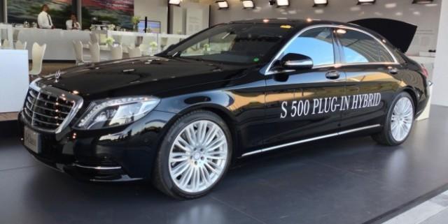 Der Mercedes-Benz S 500 Plug-In Hybrid. Bildquelle: http://www.caradvice.com.au//