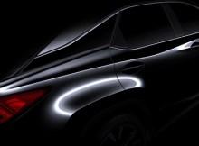 Die 4. Generation des Lexus RX erhält ein radikal neues Design- Bildquelle: Lexus
