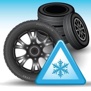 So sieht das Symbol für Winterreifen aus. ©istock.com/Route55