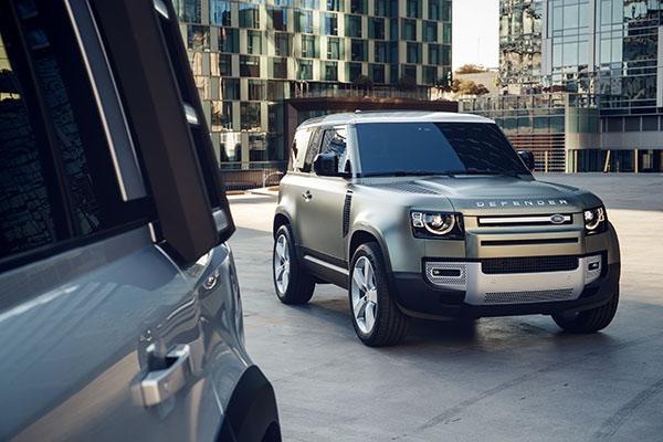 Land Rover Defender 90. Bildquelle: Land Rover