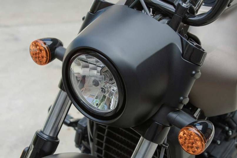2018 Indian Scout Bobber Headlight