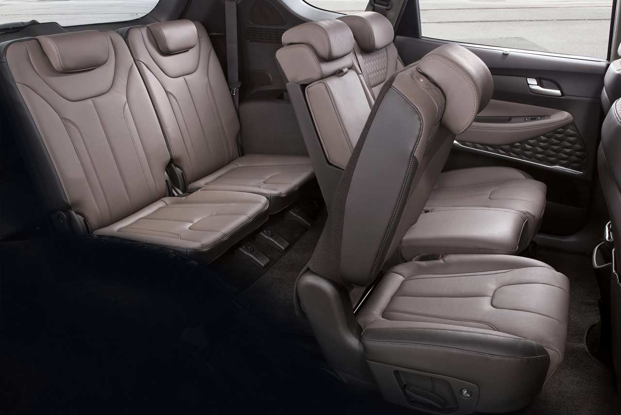2019 Hyundai Santa Fe Third Row Seats AUTOBICS
