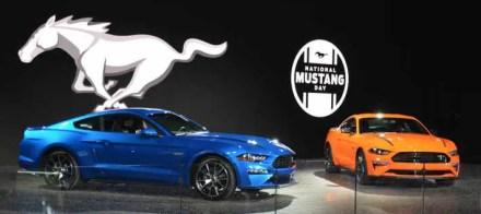 2019 Ford Mustangs