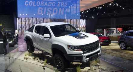 2019 Chevy Colorado Bison ZR2 pickup