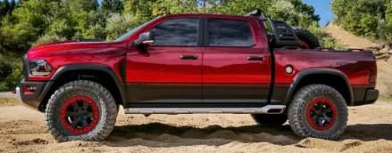 Ram Rebel TRX Hellcat truck