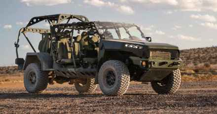 GM ISV jeep troop carrier