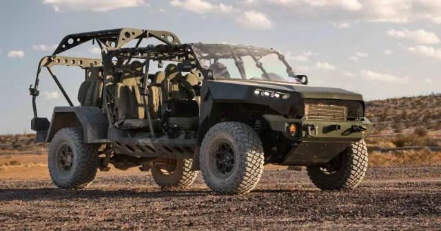 GM ISV jeep troop carrier
