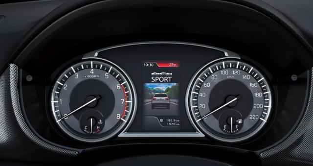 Der neue SUZUKI VITARA_Die neu gestaltete Instrumenten-Einheit spiegelt das innovative SUZUKI SUV-Konzept perfekt wider