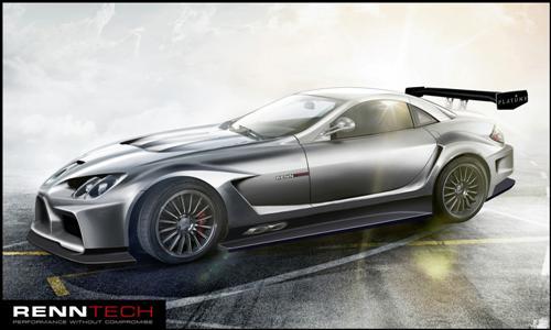 mercedes-mclaren-slr-based-renntech-777-custom