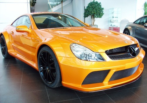 Orange SL65 Black Series