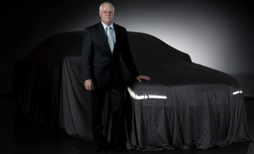 Audi A8 teaser photo