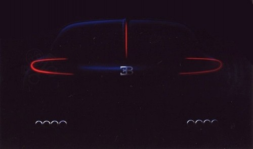 Bugatti Bordeaux teaser photo