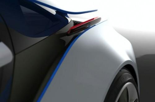 BMW Vision EfficientDynamics concept teaser
