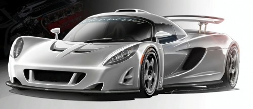 Hennessey Venon GT concept illustration