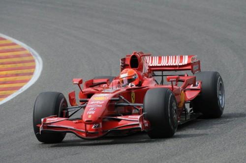 Michael Schumacher in F2007 Mugello 31.07.2009