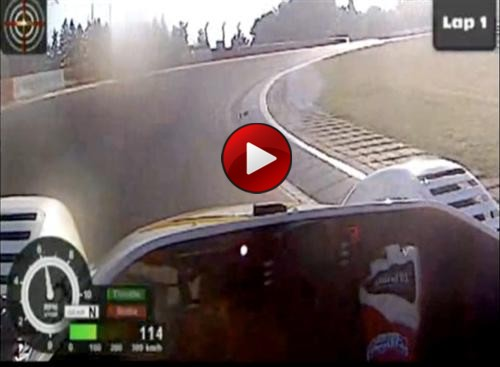 Radical SR8LM Lap Record at Nurburgring video
