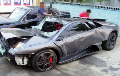 murcielago crash korea