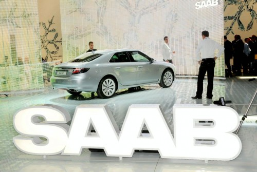 2010 Saab 9-5 live at frankfurt 2009