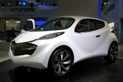 Hyundai ix-Metro Concept Live at Frankfurt 2009