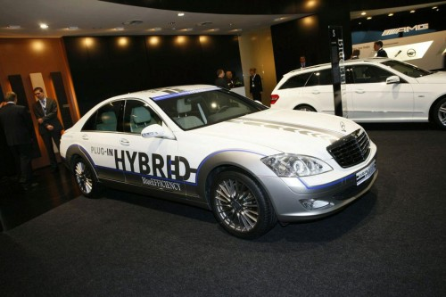 Mercedes-Benz S500 Vision Plug-In Hybrid Live at Frankfurt 2009