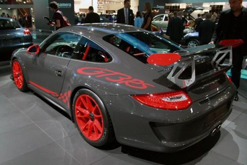 Porsche 911 GT3 RS Live at Frankfurt 2009